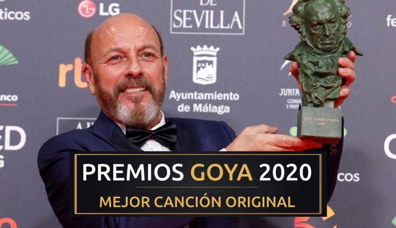 Premios Goya 2020: Javier Ruibal, mejor canción original por 'Intemperie' en los Goya