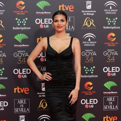 Sara Sálamo, espectacular con un diseño negro