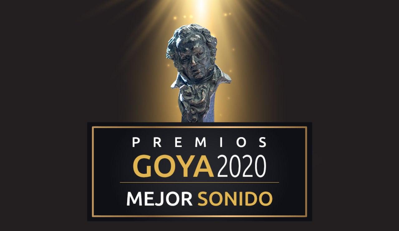 Premios Goya 2020: Mejor sonido de los Goya