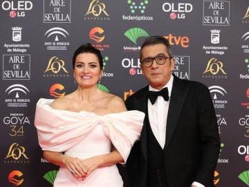 Los presentadores Andreu Buenafuente y Silvia Abril