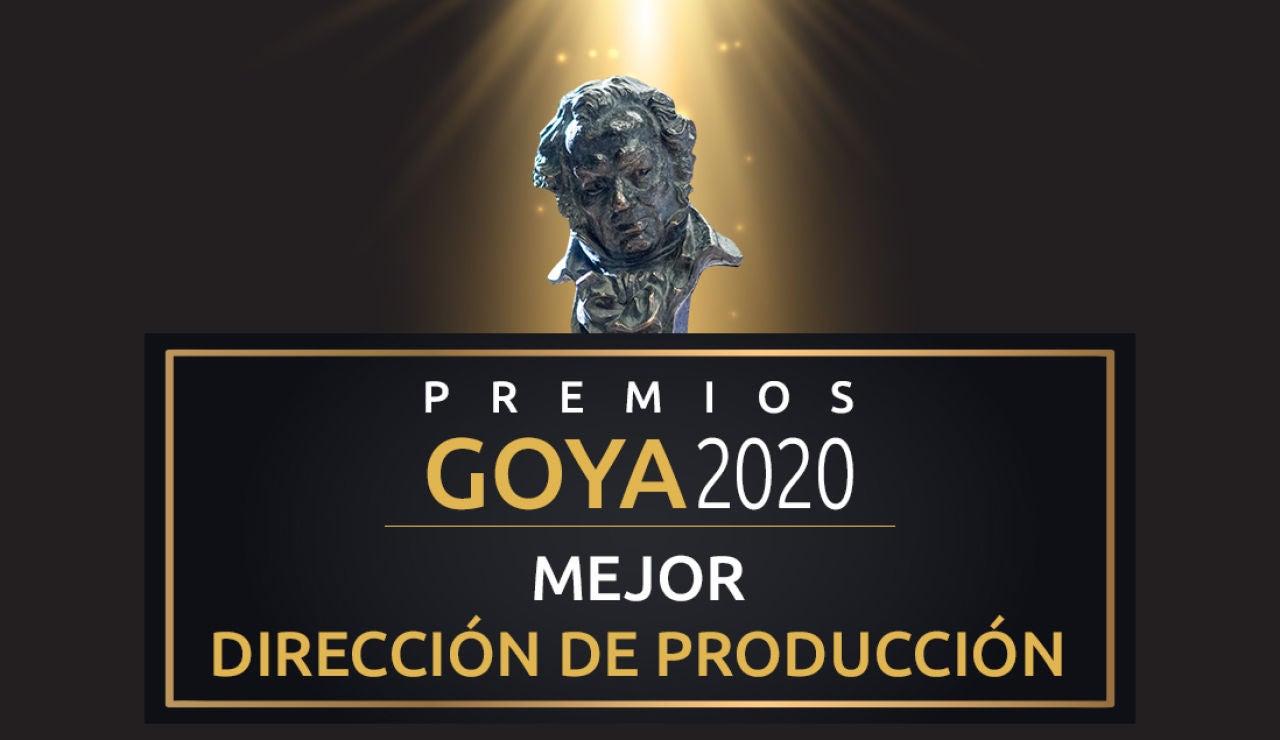 Premios Goya: Mejor dirección de producción de los Goya
