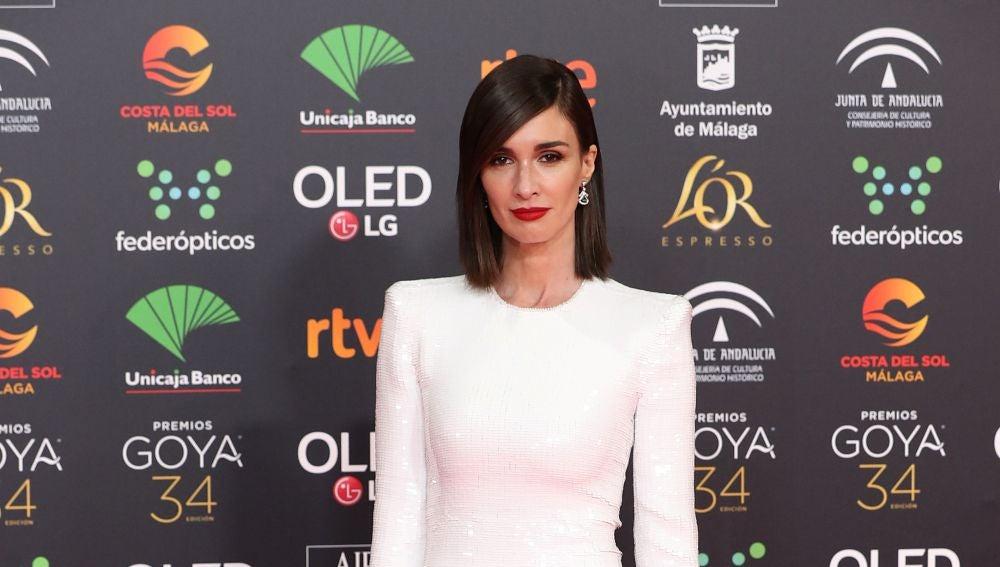 Paz Vega, impresionante con un vestido de lentejuelas