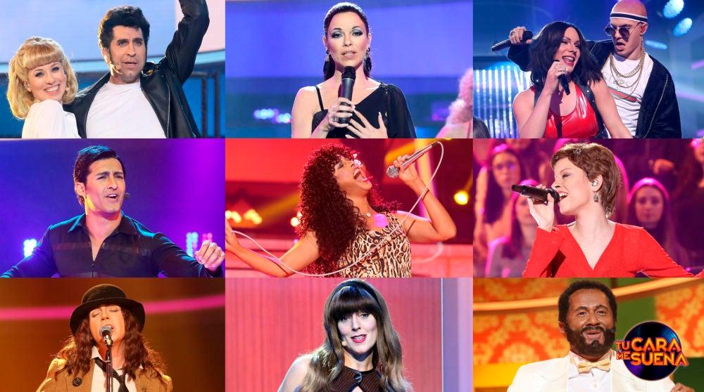 ¡Vota por la mejor actuación de la tercera gala de la octava edición de 'Tu cara me suena'!