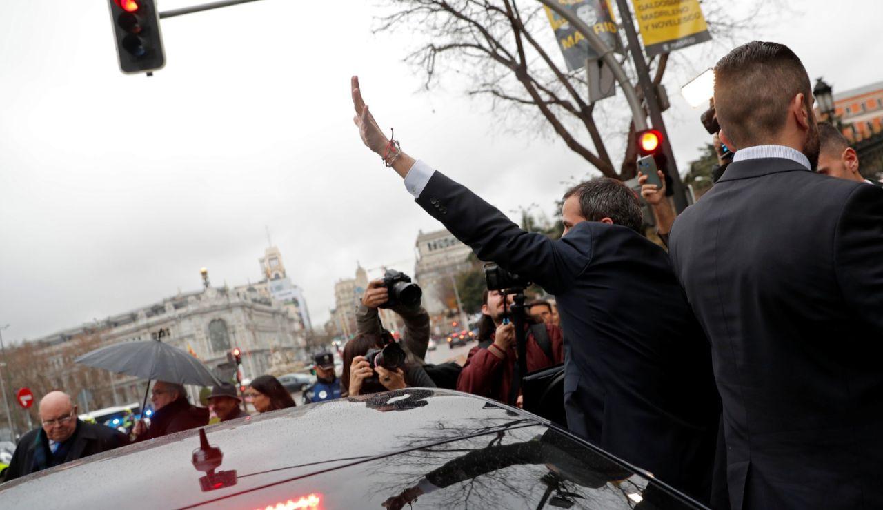 Juan Guaidó en Madrid