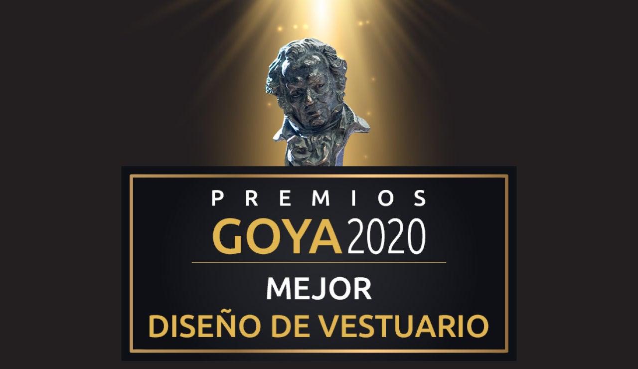 Premios Goya 2020: Mejor diseño de vestuario de los Goya
