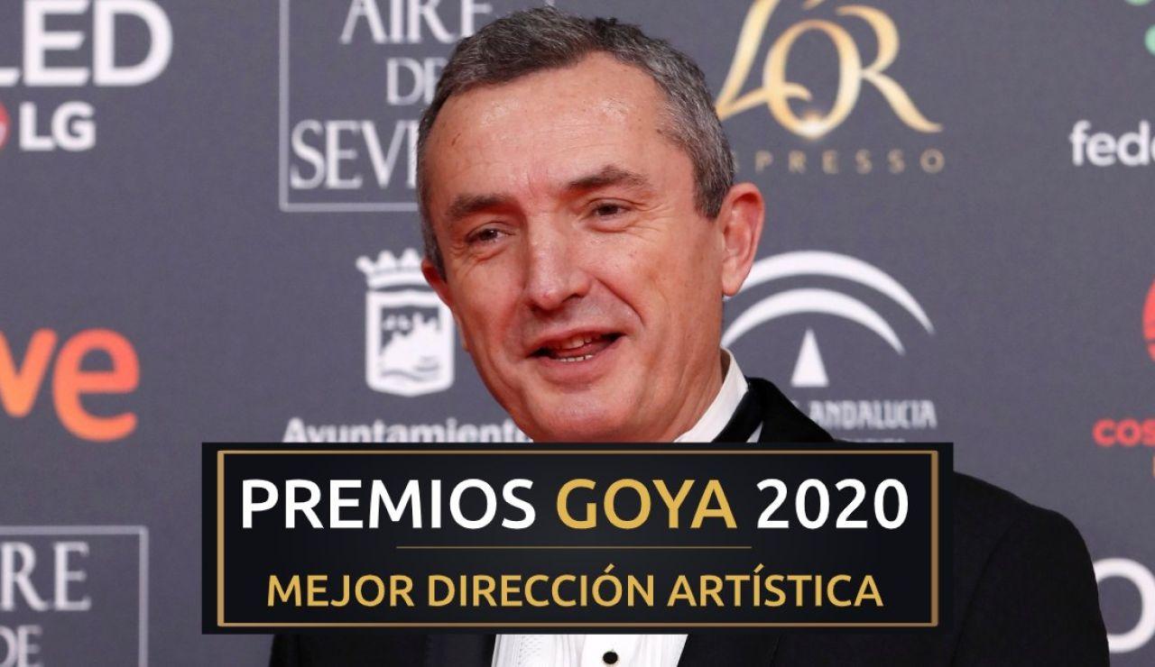 Premios Goya 2020: Juan Pedro de Gaspar, mejor dirección artística de los Goya