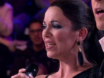 María Isabel se rompe tras la valoración del jurado sobre su imitación de Isabel Pantoja en 'Tu cara me suena'