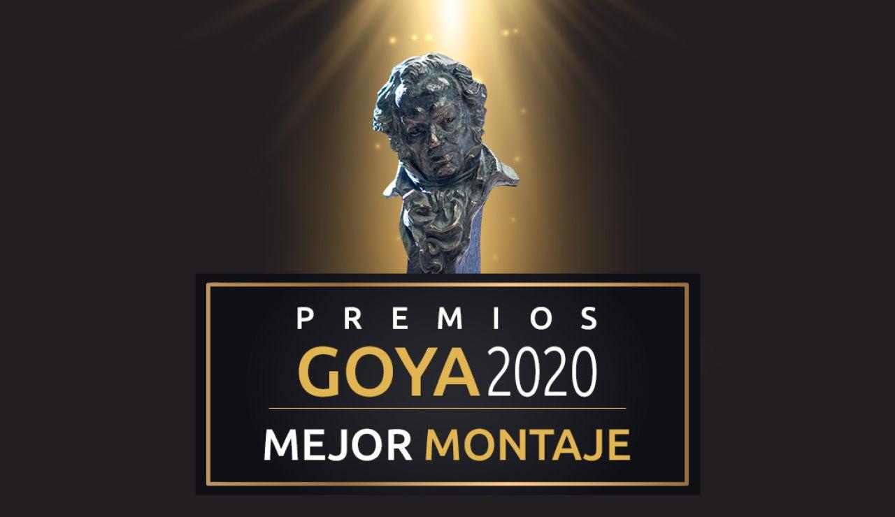 Premios Goya 2020: Mejor montaje de lo Goya
