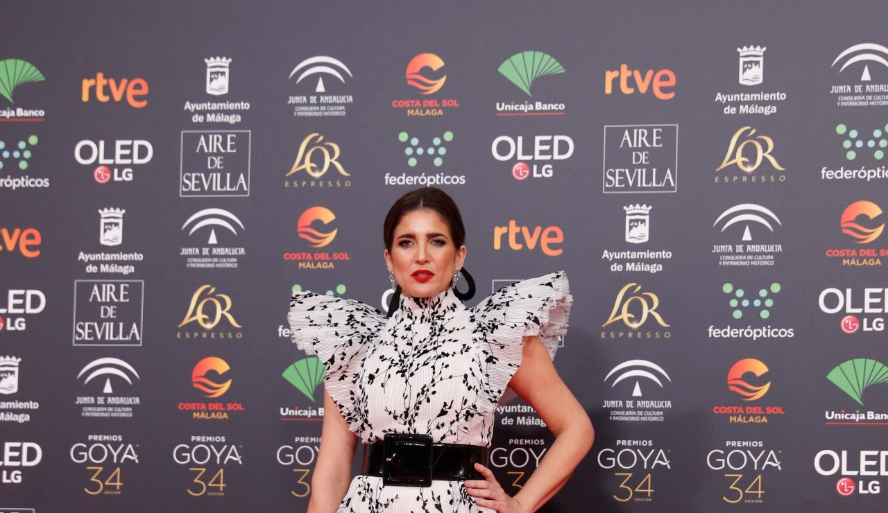 Lucia Jiménez en los Goya 2020