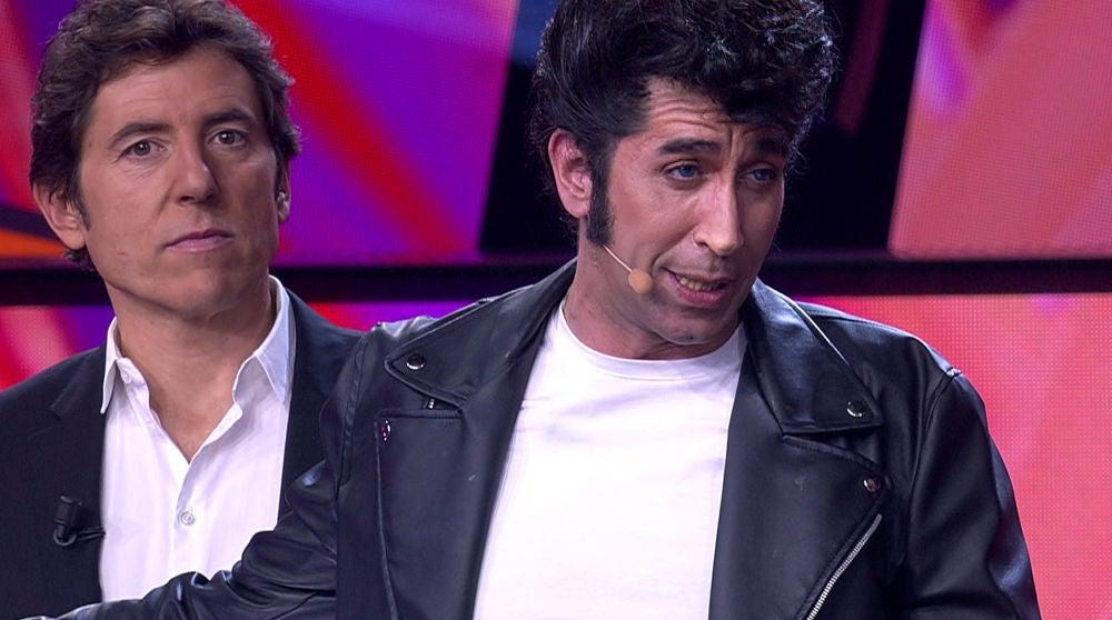 Mario Vaquerizo levanta los aplausos con su emotivo discurso en 'Tu cara me suena'