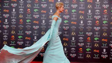 Belén Rueda espectacular en la alfombra roja de los Premios Goya 2020
