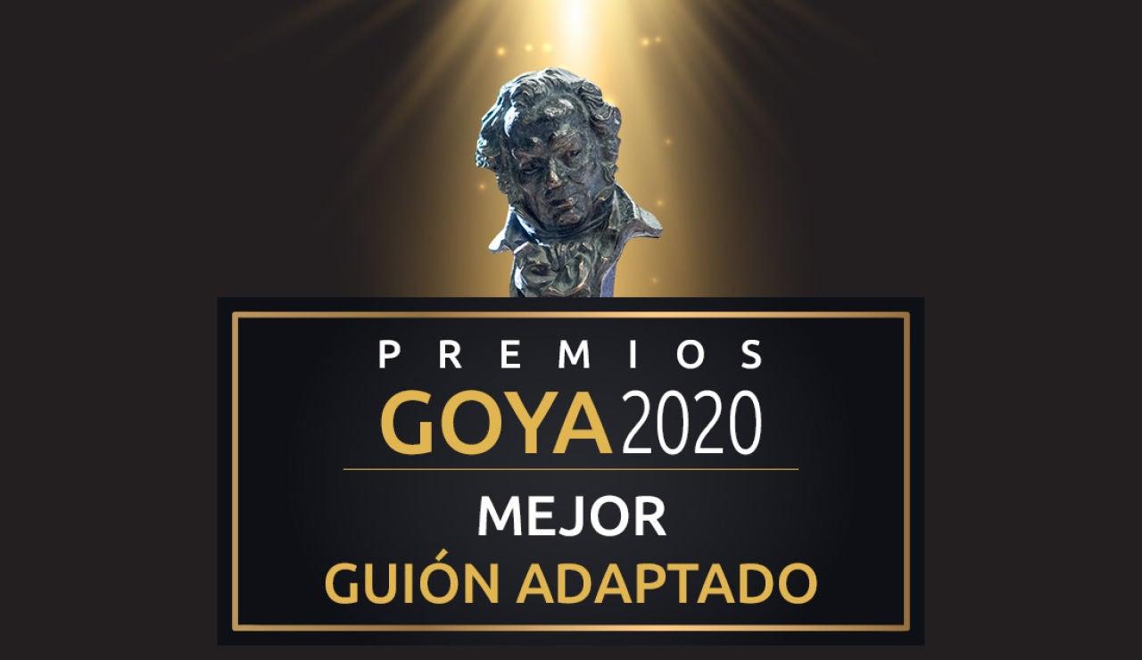 Premios Goya 2020: Mejor guión adaptado a los Goya
