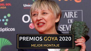 Premios Goya 2020: Teresa Font, mejor montaje por 'Dolor y Gloria' en los Goya