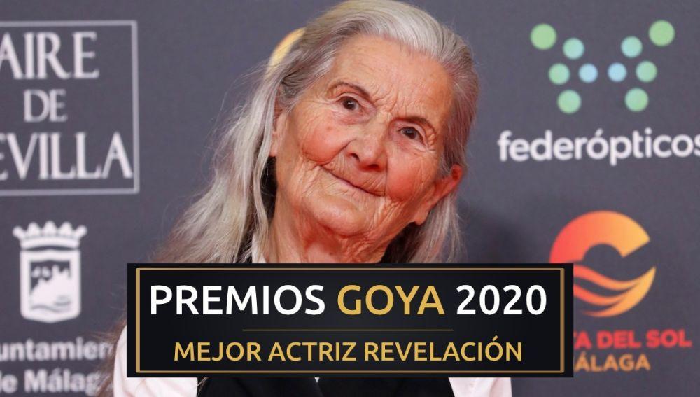 Premios Goya 2020: Benedicta Sánchez, mejor actriz revelación de los Goya