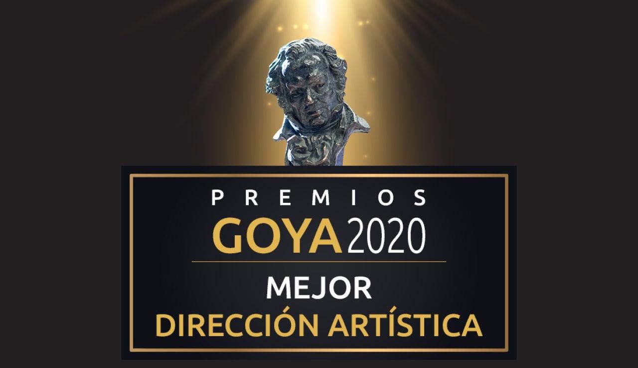 Premios Goya 2020: Mejor dirección artística de los Goya