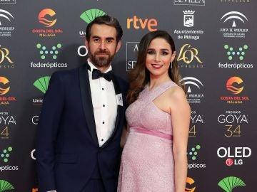 Daniel Muriel y Candela Serrat