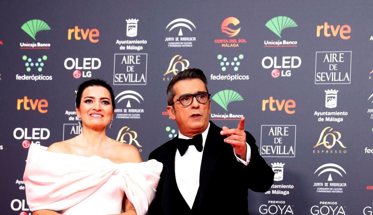 Los presentadores de la Gala de los Premios Goya 2020, Silvia Abril y Andreu Buenafuente