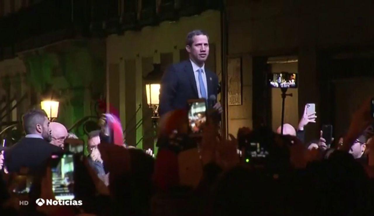 "Juan Guaidó asegura a los venezolanos residentes en España que ""pronto estaremos juntos de nuevo"""