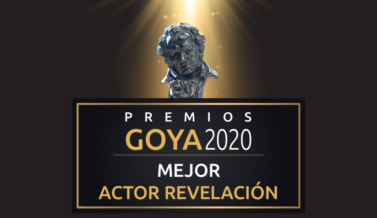 Premios Goya 2020: Mejor actor revelación de los Goya