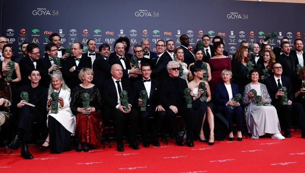 Todos los ganadores de los Premios Goya 2020