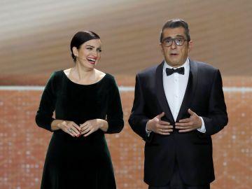 Silvia Abril y buenafuente, durante la gala de los Goya