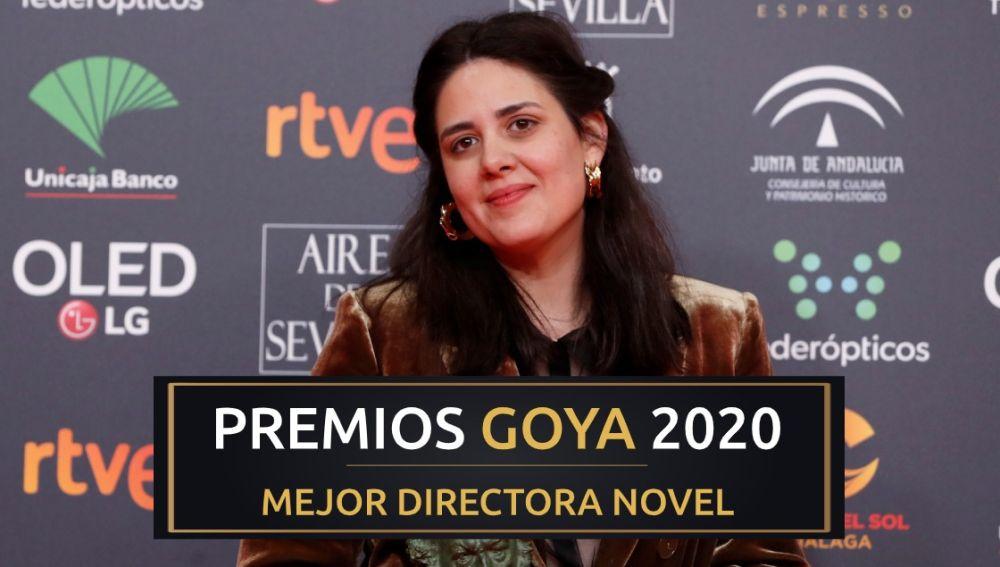 Belén Funes, mejor directora novel de los Premios Goya 2020 por 'La hija de un ladrón'
