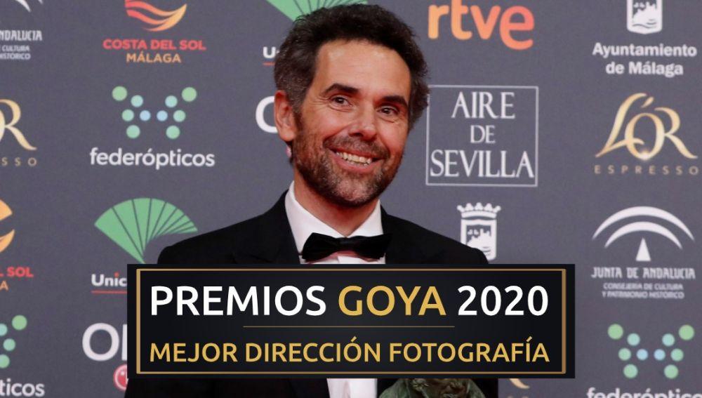Premios Goya 2020: Mauro Herce, mejor dirección de fotografía por 'Lo que arde'