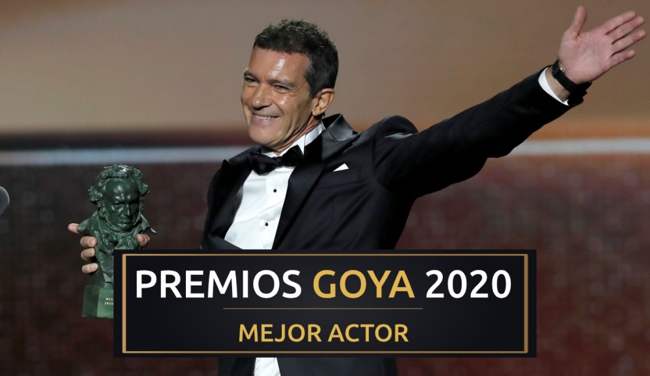 Premios Goya 2020: Antonio Banderas, mejor actor protagonista por 'Dolor y gloria'