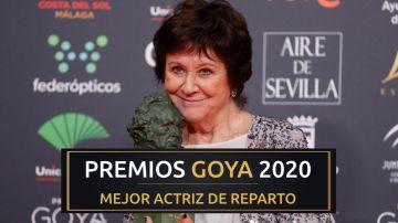 Premios Goya 2020: Julieta Serrano, mejor actriz de reparto por 'Dolor y Gloria'