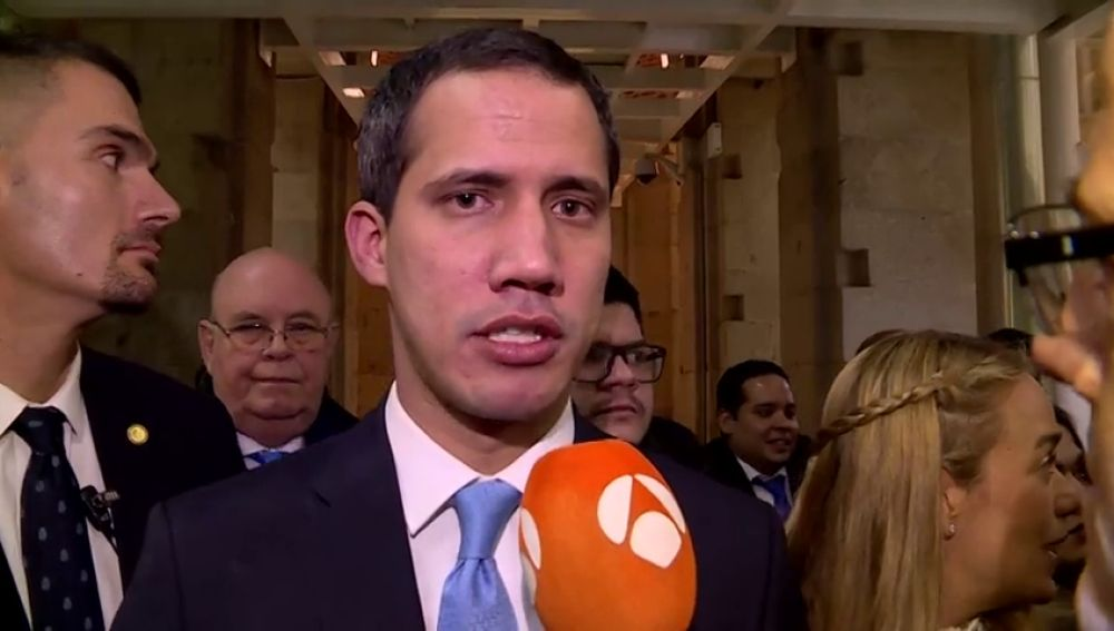 Guaidó confía en el gobierno español para logar el bienestar del pueblo venezolano