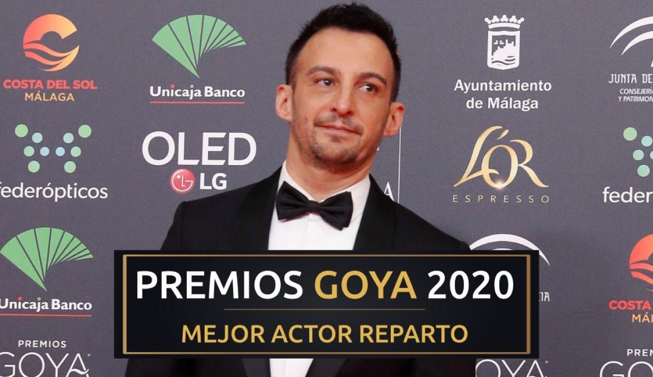 Premios Goya 2020: Eduard Fernández, mejor actor de reparto por 'Mientras dure la guerra'