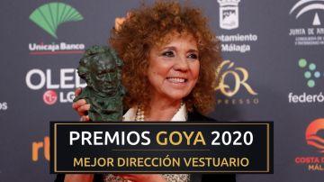 Premios Goya 2020: Sonia Grande, mejor diseño de vestuario por 'Mientras Dure la Guerra'