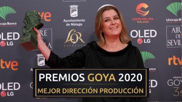 Premios Goya 2020: Carla Perez de Albeniz, mejor dirección de producción por 'Mientras dure la guerra'