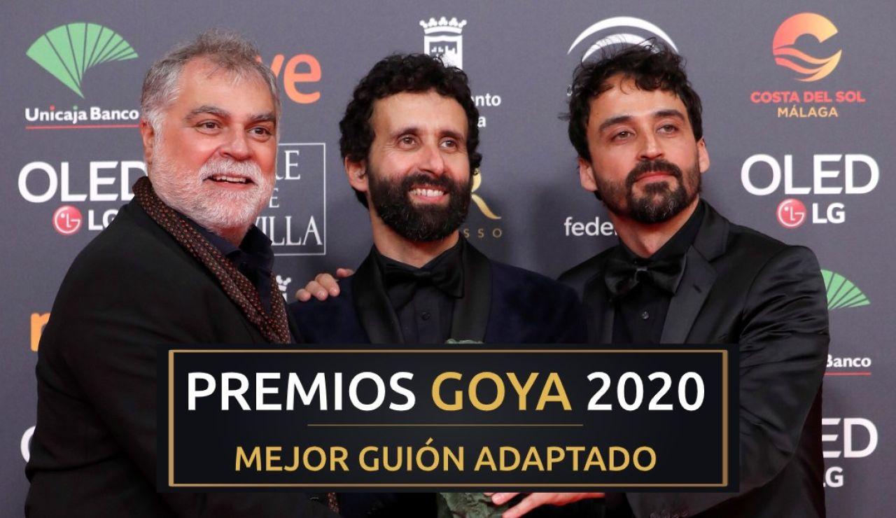 Premios Goya 2020: Benito Zambrano, Daniel Remón y Pablo Remón, mejor guión adaptado por 'Intemperie'