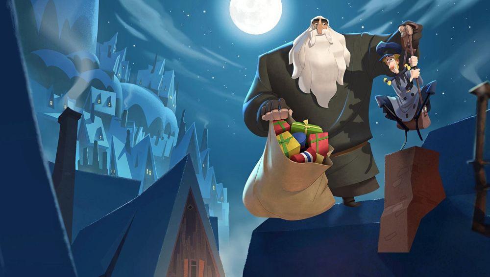 Imagen promocional de la película de animación 'Klaus'
