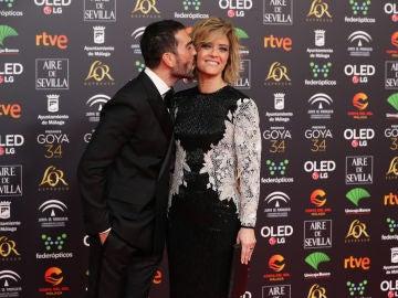 María Casado y el estilista Manuel Zamorano
