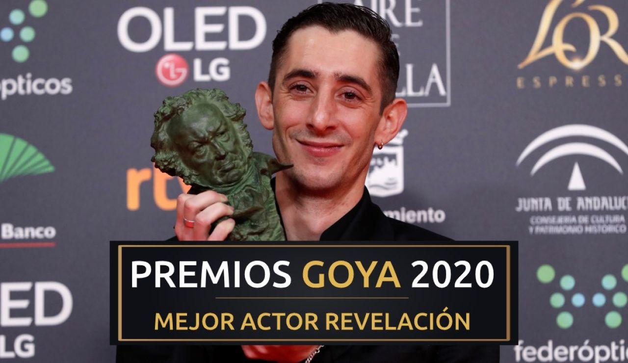 Premios Goya 2020: Enric Auquer, mejor actor revelación por 'Quien a hierro mata'