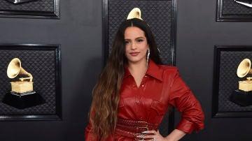 Rosalía durante los Premios Grammy 2020