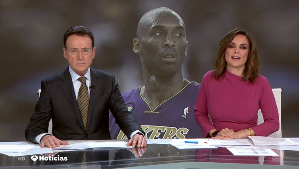 """Las bonitas palabras de Matías Prats por la muerte de Kobe Bryant: """"Ha sido uno de los más grandes de la historia"""""""