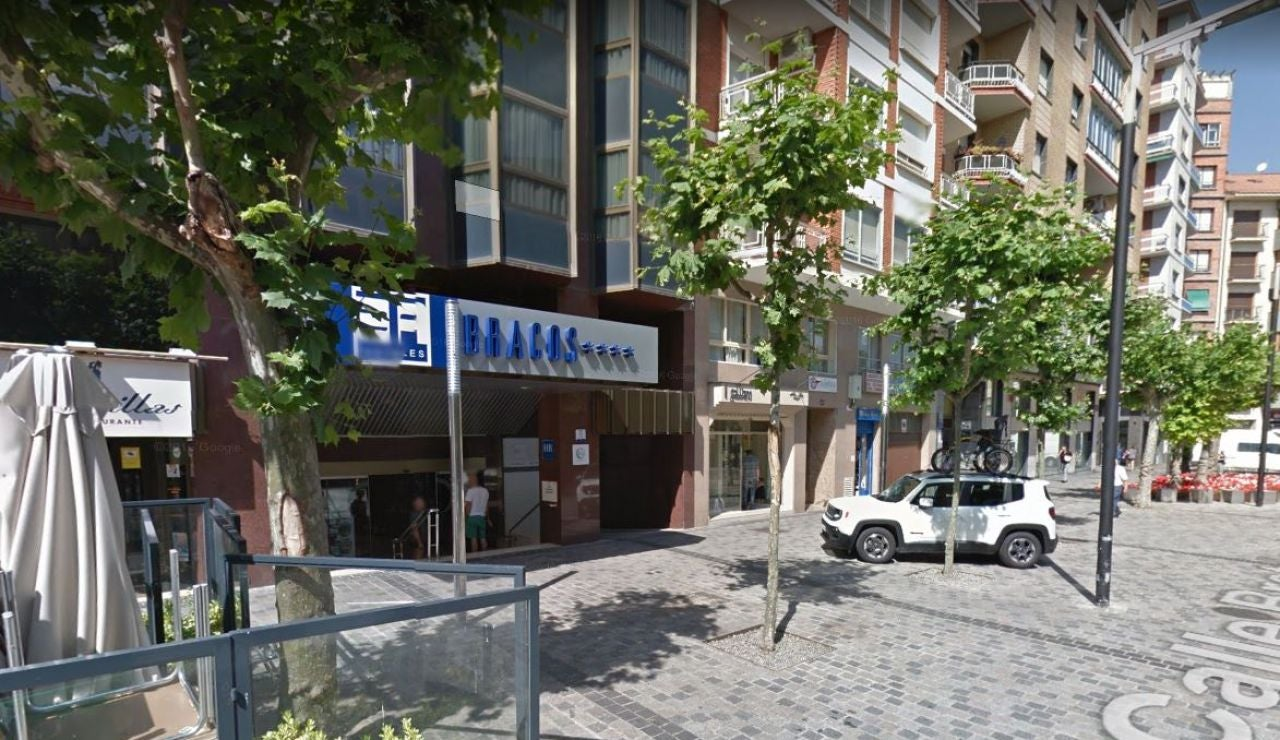 Fachada del hotel Los Bracos, situado en el centro de Logroño