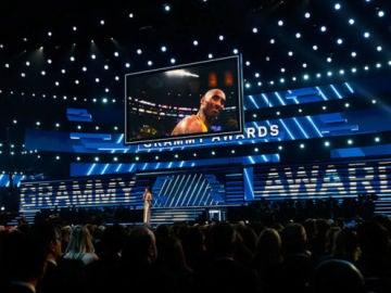 Los Grammy rinden tributo a Kobe Bryant