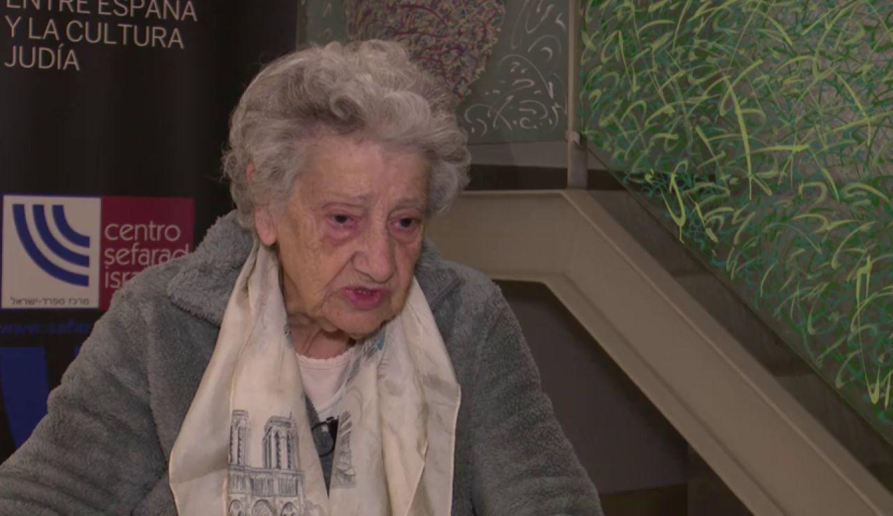 """Annete Cabellu, recuerda sus tres años en Auschwitz : """"Ves el humo de aquella chimenea? Pues ahí está tu mamá"""""""