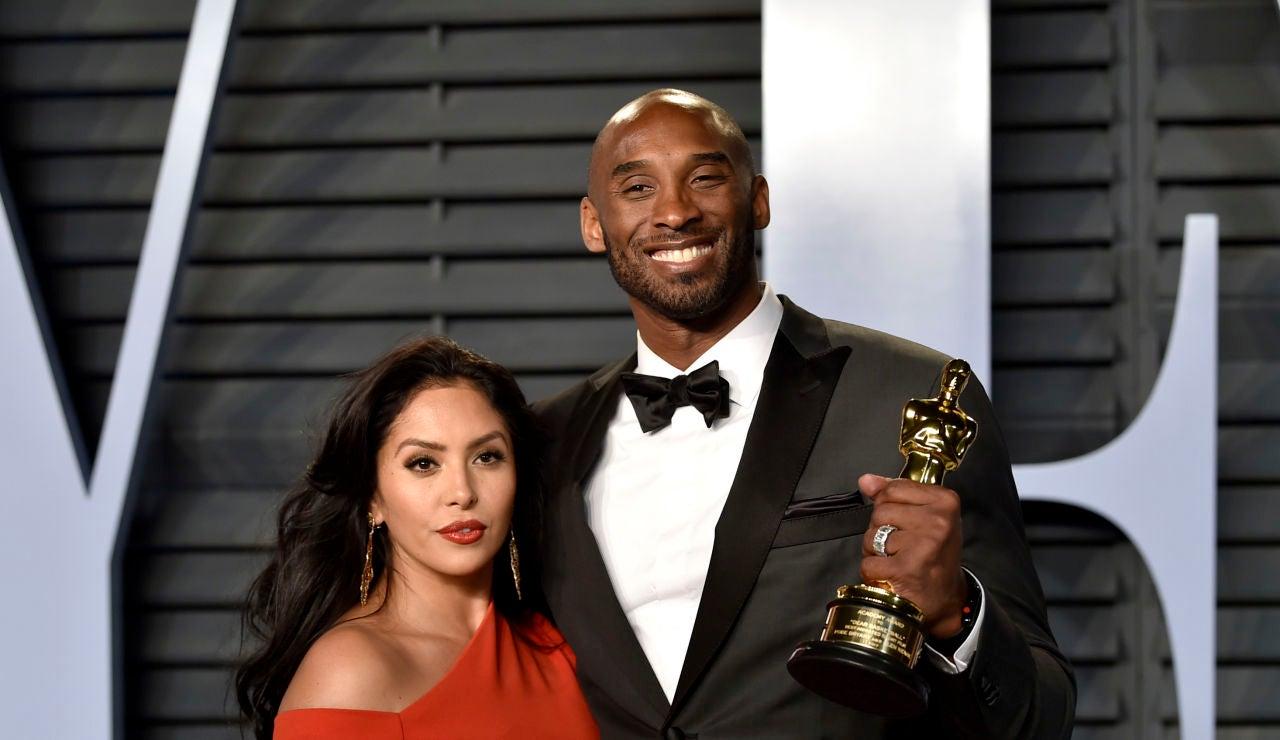 Kobe Bryant junto a su mujer, Vanessa Laine