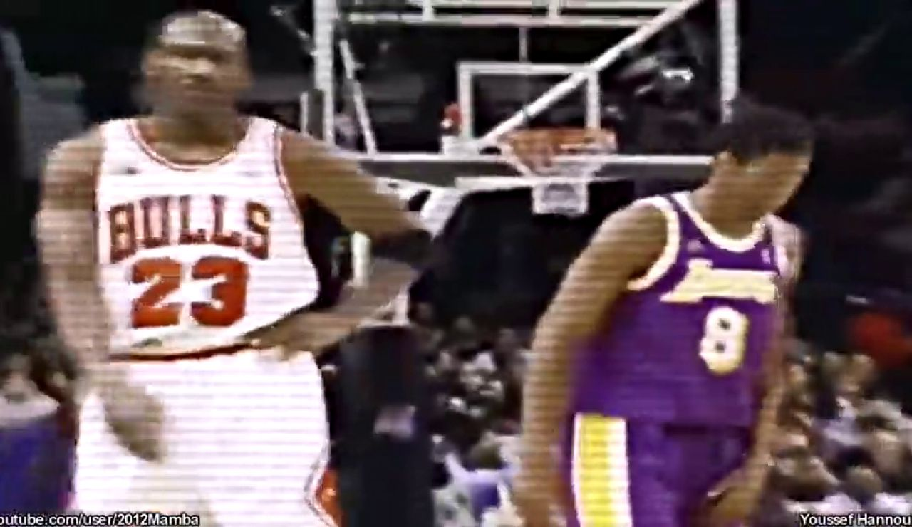 El vídeo viral que compara el juego de Kobe Bryant con Michael Jordan