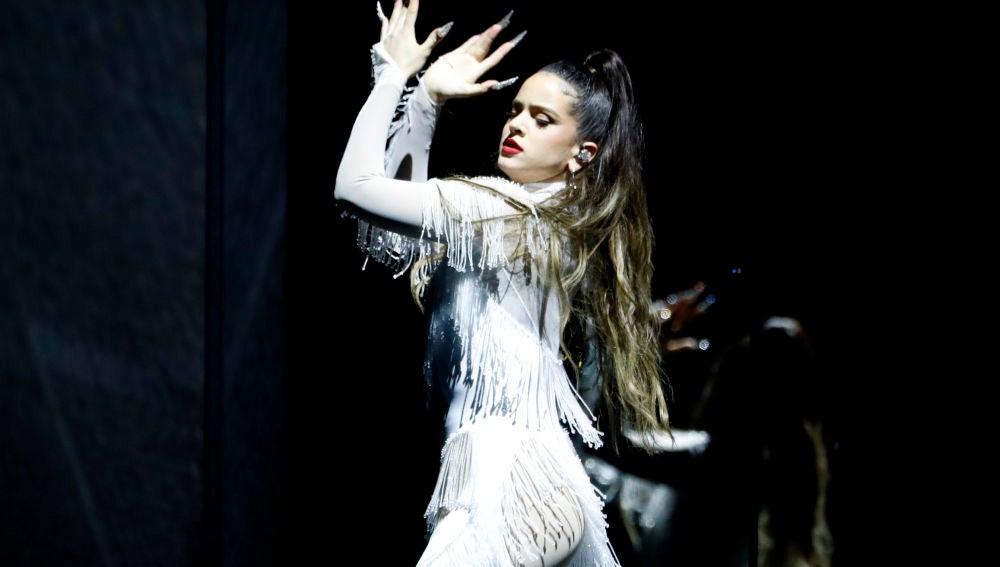 Así ha sido la actuación de Rosalía en los Grammy