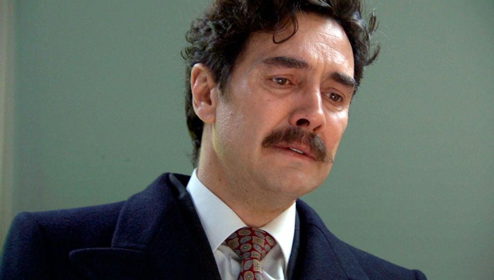 Armando, ante el cadáver de Julia