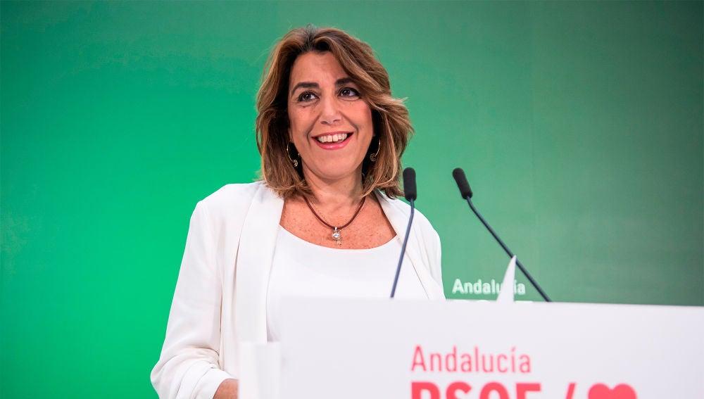 Susana Díaz, secretaria general del PSOE andaluz