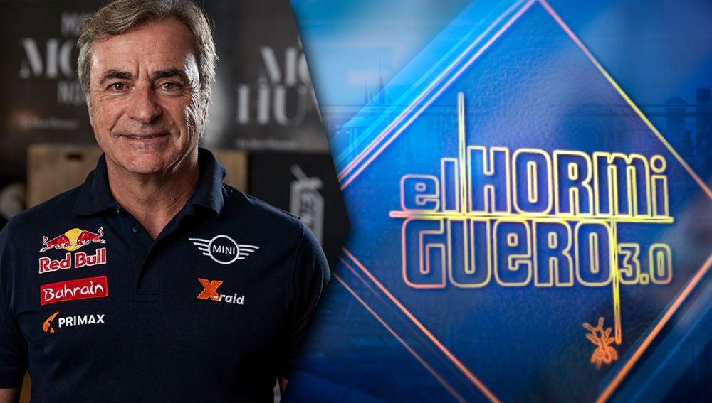 El campeón del Rally Dakar, Carlos Sáinz, en 'El Hormiguero 3.0' el miércoles 5 de febrero