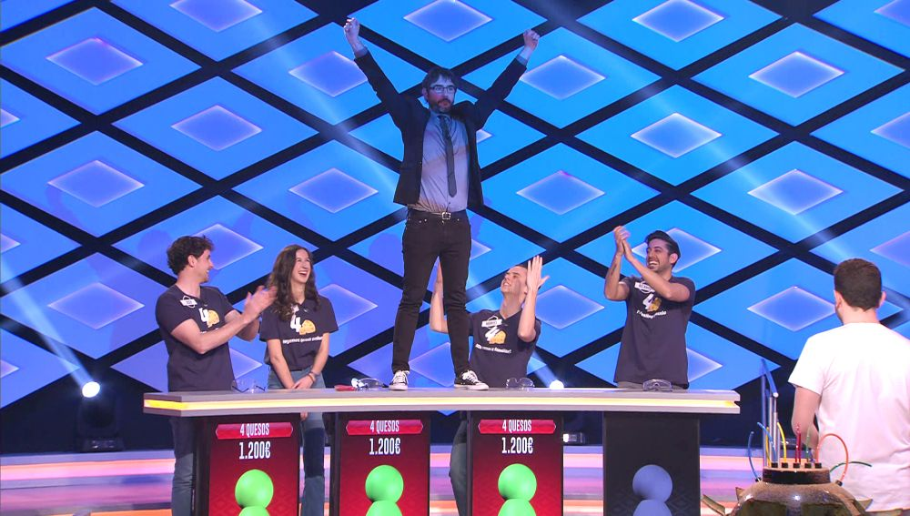 El divertido chiste de Juanra Bonet a los '4 quesos' en '¡Boom!'