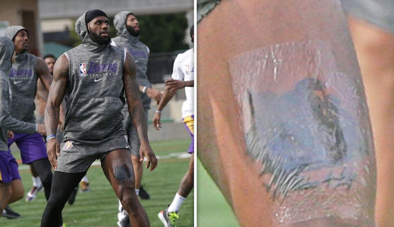 El tatuaje de LeBron